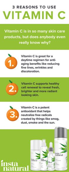 Vitamin C Serum Vitamin C is a key ingredient in some of InstaNatural products. Vitamin C Serum Organic Skin Care, Natural Skin Care, Organic Beauty, Natural Hair, Natural Beauty, Skin Care Regimen, Skin Care Tips, Aloe Vera Skin Care, Home Remedies For Acne