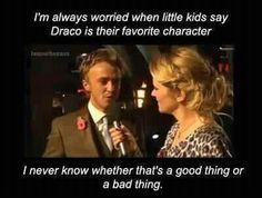 Ahahahaha, loving Tom Felton/Draco.