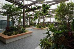 TAMAN MALURI Shopping Centre#Exterior Interior Design#Garden#Restaurant#Relaxation#Shopping mall#INPROUD#INPROUD ASIA Shopping Center, Shopping Mall, Kyoto Japan, Planting Flowers, Centre, Asia, Exterior, Restaurant, Interior Design