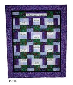 What cancer cannot do quilt