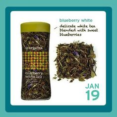 Tea of the Day: Blueberry White is 25% off in Argo Tea cafes today! #NationalHotTeaMonth