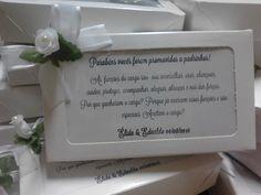 Convite/Lembrança Padrinhos de Casamento