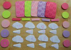 DIY Valentines Card Kit by beadshack on Etsy, $16.00