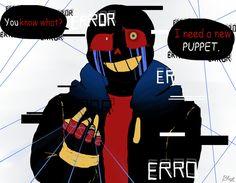 Error!Sans- My PUPPET