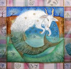 AstroSpirit / Capricorn ♑ / Earth / The Goat / Capricorne par Jane Ray