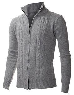 FLATSEVEN Men's Casual Cable Knit Full-Zip up Wool Sweater Cardigan (PZ405) Grey, L FLATSEVEN http://www.amazon.com/dp/B00Q0998JO/ref=cm_sw_r_pi_dp_lA6Xub0F5N47F