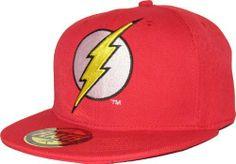 DC Comics The Flash Logo Red Snapback Cap Price : £18.95 http://www.pumpheadgear.com/DC-Comics-Flash-Logo-Snapback/dp/B00EZ6N246