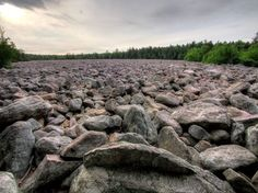 Boulder Field, Hickory Run State Park - Poconos, PA Camping trip with Rayge