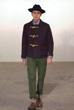 A look from the fall 2015 Mark McNairy New Amsterdam show. (Photo: Nowfashion)
