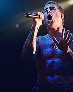 avenged sevenfold. m. shadows.