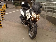 Suzuki vstrom dl650 2011 in its first ride
