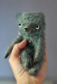 jennifer murphy, blue mohair bear, and other silly things