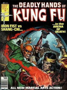 The Deadly Hands of Kung-Fu 29, October 1976
