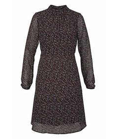 Tamaris Druckkleid High Neck Dress, Dresses With Sleeves, Long Sleeve, Fashion, Printing, Curve Dresses, Turtleneck Dress, Moda, Full Sleeves