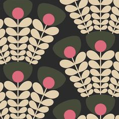 Orla Kiely Fabric, Orla Keily, Barker And Stonehouse, Kids Prints, Cool Posters, Surface Pattern Design, Textile Design, Print Patterns, Pattern Print