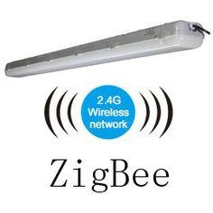 ZigBee Light Link led tri-proof light pc 50w 1500mm 250x250mm
