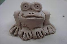 Pinch Pot Frogs. www.onceuponanartroom.com