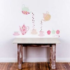 Mae Creates Removable, Reusable Dreamy Illustrations #uniquedecals #stickerdecals trendhunter.com
