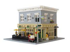 Lego Building Blocks, Old Building, Building Ideas, Lego Architecture, Classic Architecture, Lego Boards, Lego Modular, Cool Lego Creations, Lego Design