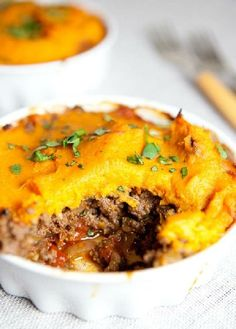 Low FODMAP Recipe and Gluten Free Recipe - Shepherd's pie with pumpkin mash   www.ibs-health.co...