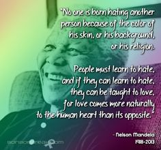 Love comes more naturally than hate and it will beat out hate every time. ╰♡╮