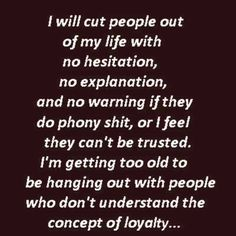 Phony people quote.. No time for that...