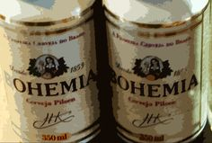 BOHEMIA - The tradition of brewing in Brazil dates back to German immigration in the early nineteenth century. The first breweries date from the 1830s, although the brand Bohemia is claimed to be the first Brazilian beer, with production starting in 1853 in the city of Petrópolis, Rio de Janeiro. Actually, Bohemia is the oldest Brazilian beer which is still under production
