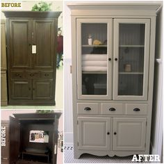 TV Cabinet to Linen Cabinet