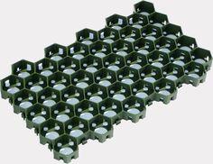 Газонная решетка сота (зеленая)