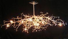 lustre arbre - by Géraldine Gonzalez