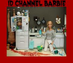 serial killer barbie - Dexter inspired images from Mariel Clayton. And now Mariel Clayton has inspired me. Barbie Kills Ken, Barbie Et Ken, Bad Barbie, Barbie Barbie, Ken Doll, Hello Barbie, Barbie 2000, Uma Thurman, Lucy Liu