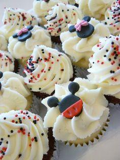 Mini Micky Cupcakes