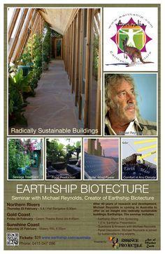 Earthship Biotecture with Michael Reynolds
