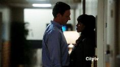 The beginning of Fitz and Olivia's love affair