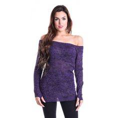 Hena Top - Purple