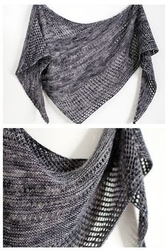 Ravelry: Antarktis shawl with Orange Flower Yarn MCN Light - knitting pattern by Janina Kallio.