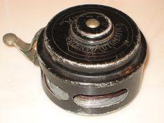 Vintage Kalamazoo Tackle Company Miracle Silent Automatic Fishing Reel No. 1698  #KalamazooTackleCompany
