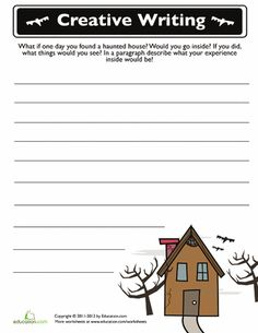Worksheets Grade 2 Composition cute fall writing prompts for work on 4th grade frolics halloween prompt