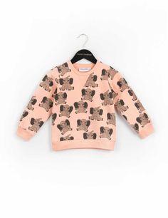 Mini Rodini Elephant Sweatshirt Pink