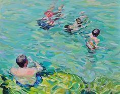 "Saatchi Online Artist claudio malacarne; Painting, ""acquatico"" #art"