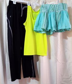 7a7d32f27be6 Details about Lot Of 3 Girls Sz 10 Tek Gear Sports Pants Old Navy Sport Top  Limited Too Skirt