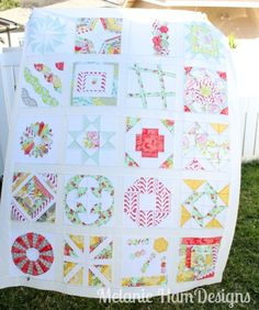 Craftsy Block of the Month Quilt Top