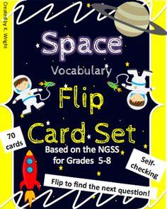Astronomy Flip Card Flash Freebie! Grab it before it is gone!