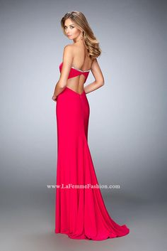 LA FEMME | PROM 2016 | IN STOCK TODAY | Party Dress Express | 657 Quarry Street | Fall River, MA | partydressexpress.com #prom #promdress