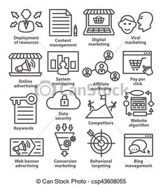 Vector - Business management icons in line style. Pack 24. - stock illustration, royalty free illustrations, stock clip art icon, stock clipart icons, logo, line art, EPS picture, pictures, graphic, graphics, drawing, drawings, vector image, artwork, EPS vector art
