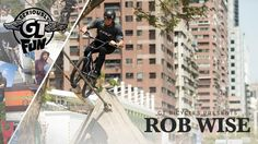 """Rob Wise made a brief hiatus from BMX pro late last year, but his section from GT's """"Seriously Fun"""" DVD shows that Rob hasn't slowed down one bit. Bmx Pro, Gt Bmx, Bicycle, Fun, Bicycle Kick, Bike, Trial Bike, Bicycles, Funny"""