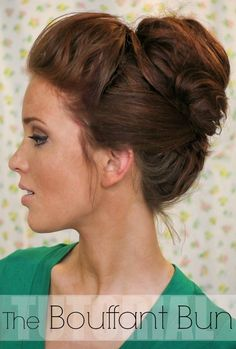 This is so classy! ...and it beats the ponytail look when the days are just to hot to wear your hair down!