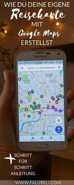 Erfahre in einem Schritt für Schritt Tutorial, wie du deine eigene Reisekarte mit Google Maps erstellst. Perfekt zum planen für den nächsten Urlaub.