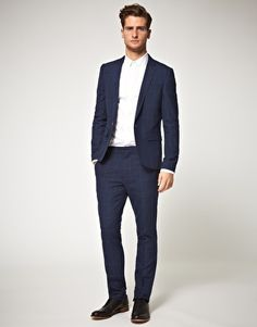 The slim fit suit...don't be scared.