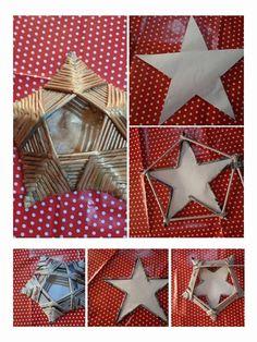 estrellas portavelas de papel Paper Weaving, Weaving Art, Noel Christmas, Christmas Crafts, Christmas Ornaments, Paper Crafts Origami, Diy Paper, Hobbies And Crafts, Fun Crafts